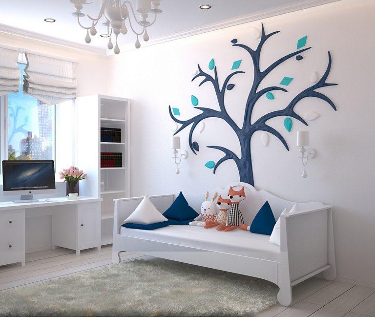 Kinderzimmer gestalten mit Kunstleder & Co. – so wird\'s schön!