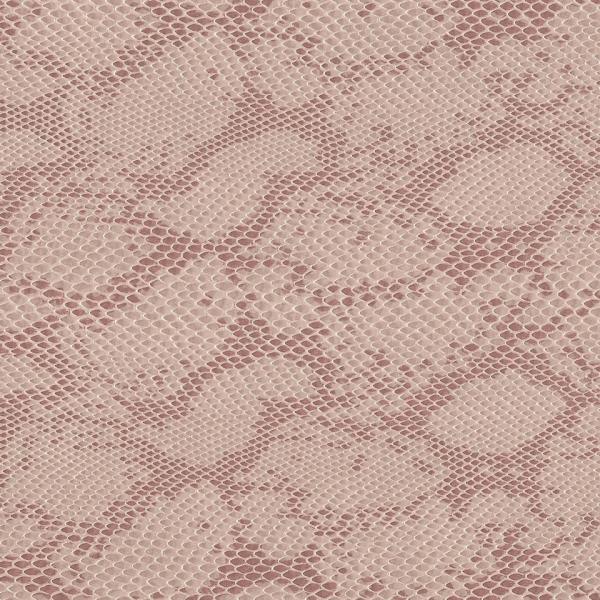 Kunstleder Schlange hellbeige-rosé