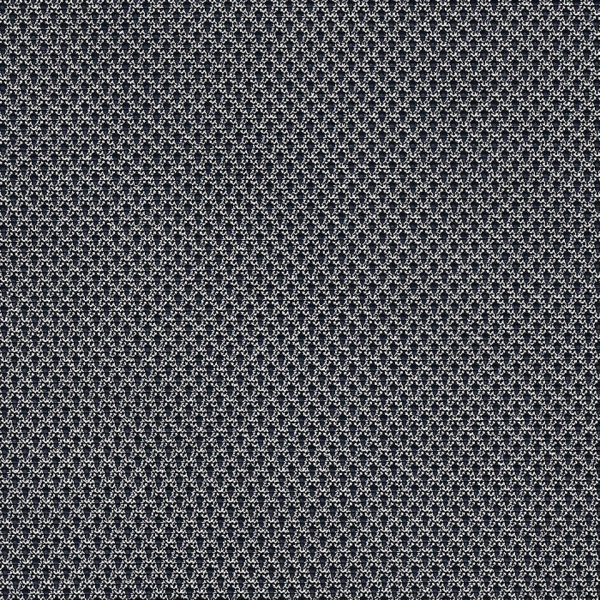 Kunstleder Strickoptik schwarz Überdruck