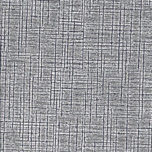 Kunstleder Leinen schwarz-weiß