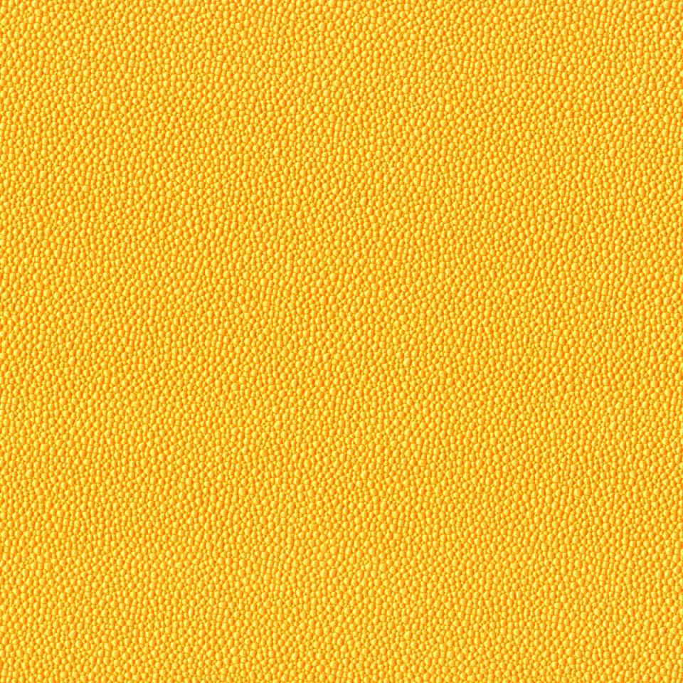 Kunstleder Rochen gelb