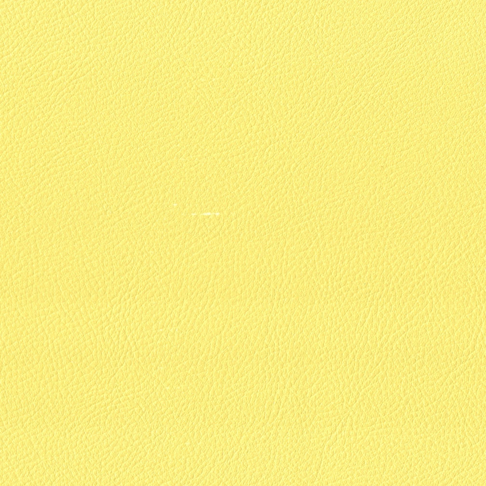 Kunstleder Metallic gelb matt