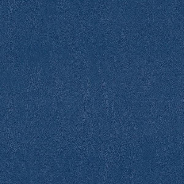 Kunstleder flammhemmend dunkelblau