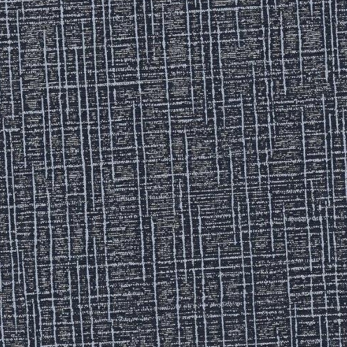 Kunstleder Leinen schwarz-grau