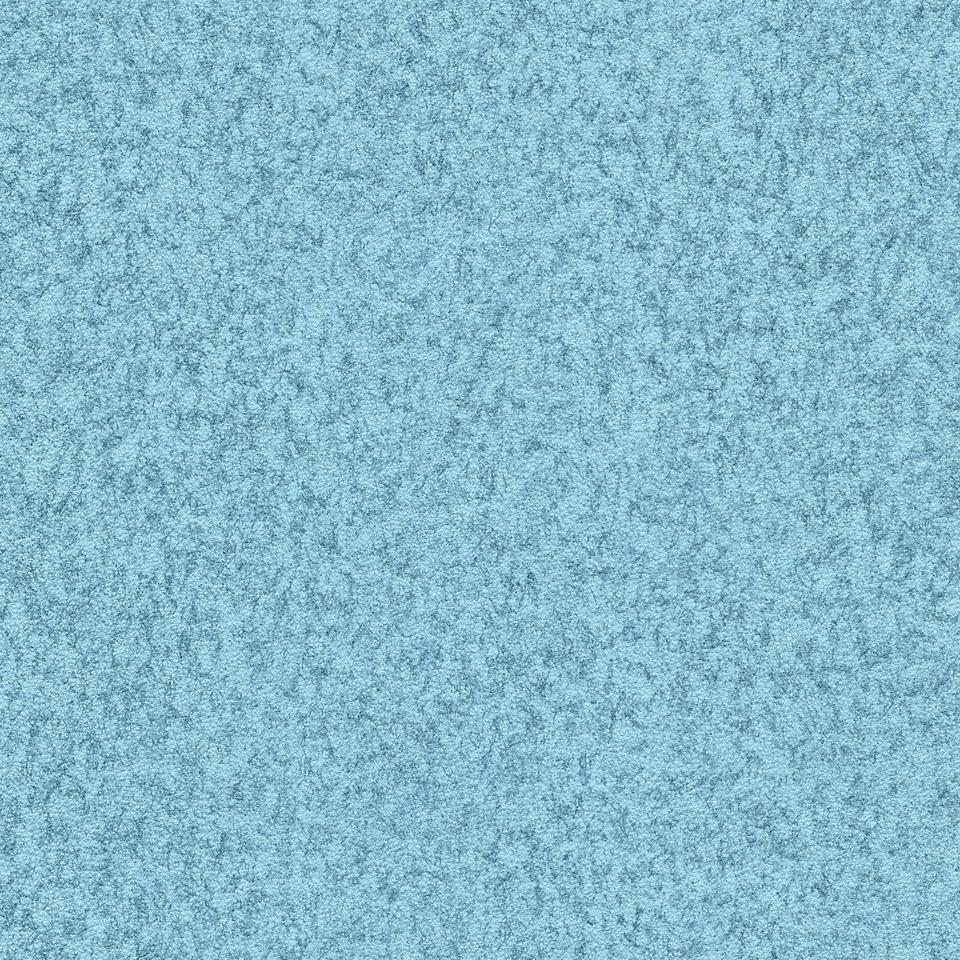 Kunstleder Filzoptik hellblau