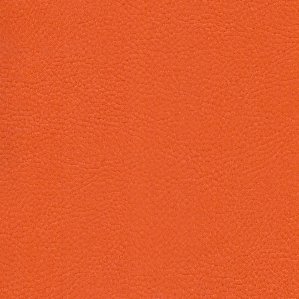 Kunstleder Softy orange