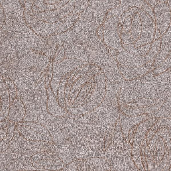 Kunstleder Roses mandel