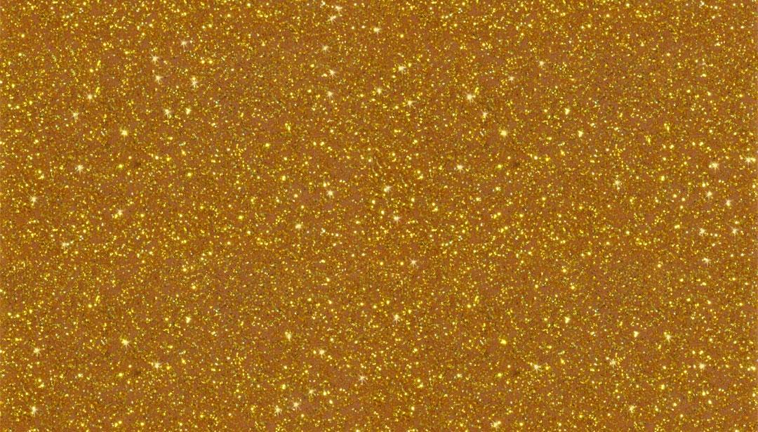 """Kunstleder """"Flitter"""" gold"""