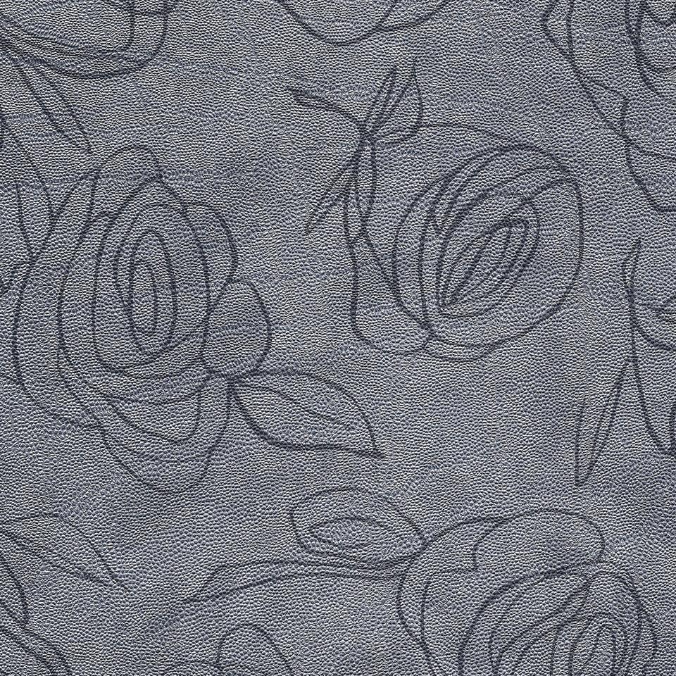 Kunstleder Roses silber