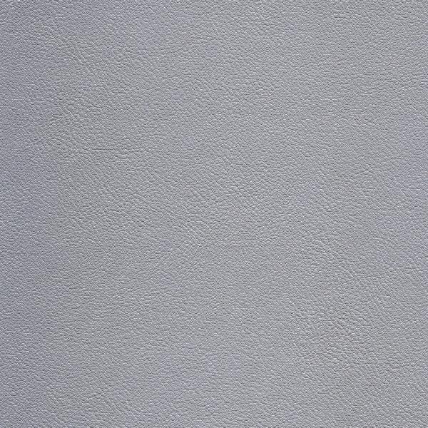 Kunstleder Metallic silber matt