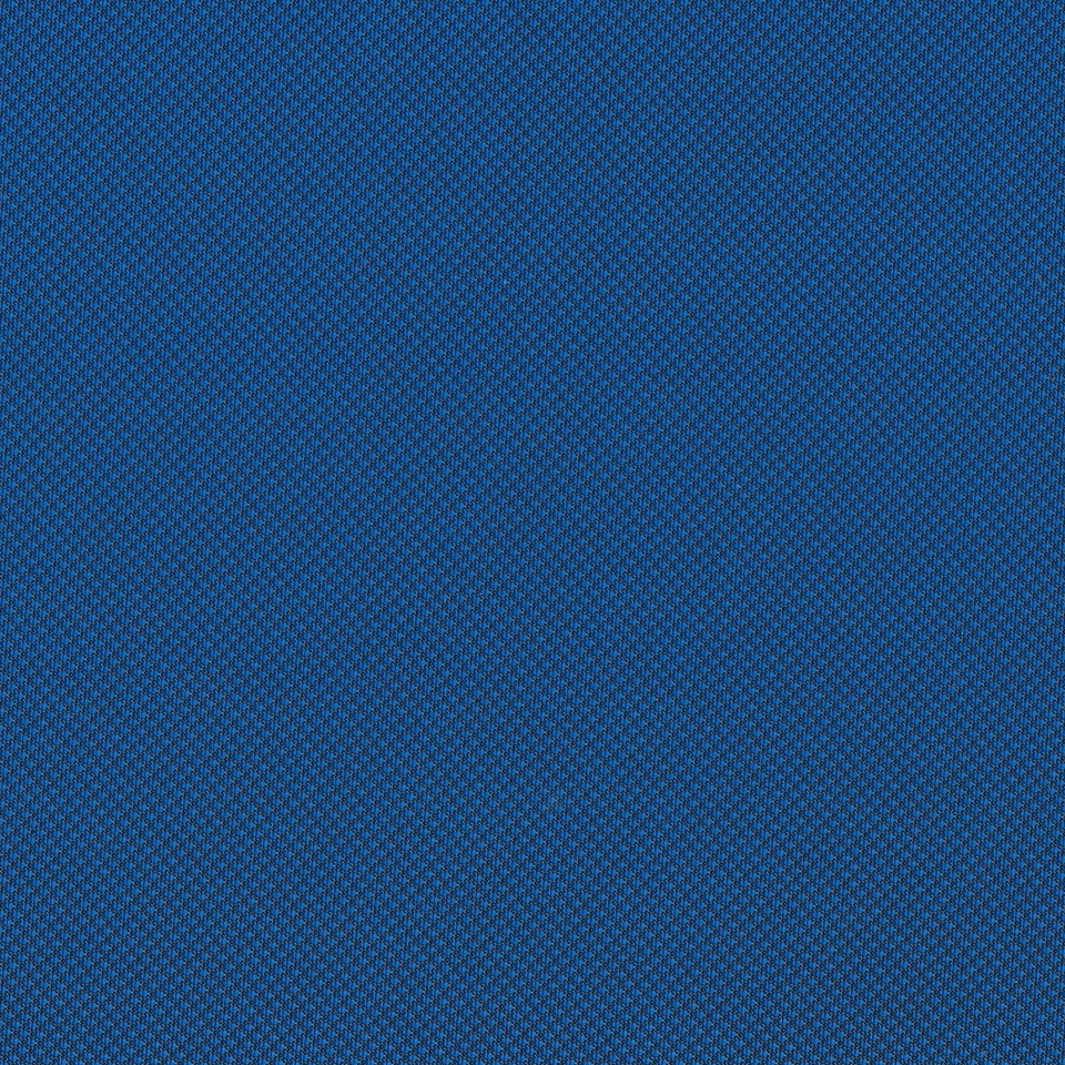 Kunstleder Strickoptik blau Überdruck