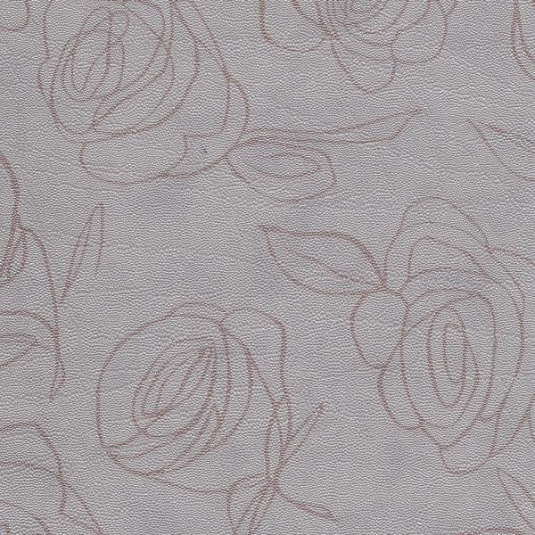 Kunstleder Roses hellgrau