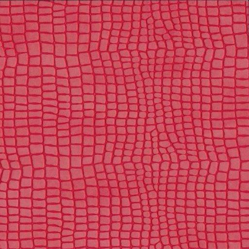 Kunstleder Python rot