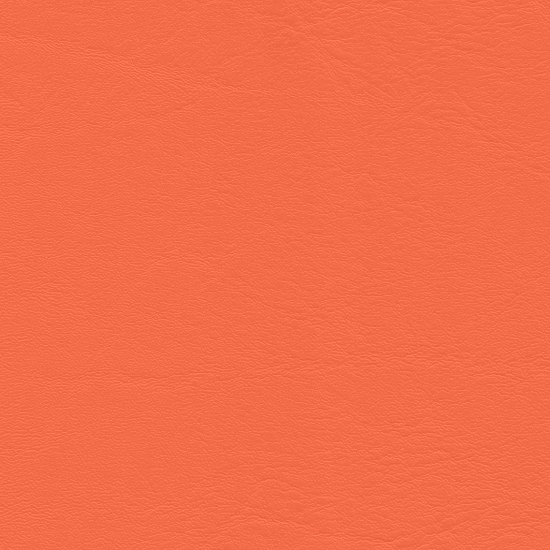 Kunstleder Neon orange