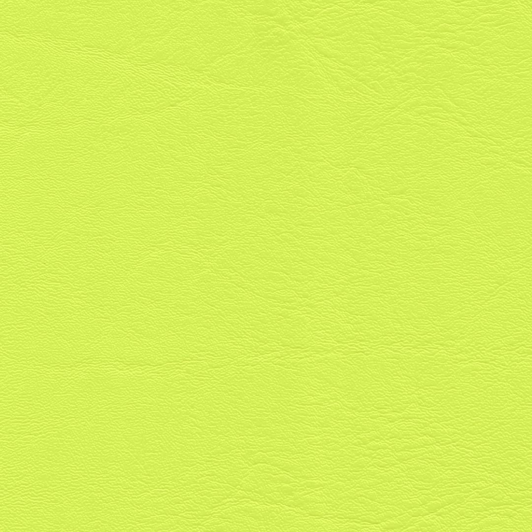 "Kunstleder ""Neon"" gelb"