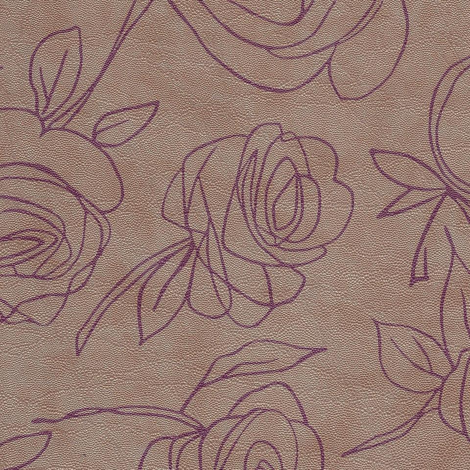 Kunstleder Roses perlmutt