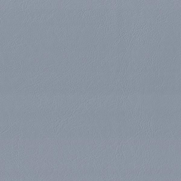Kunstleder flammhemmend taubenblau