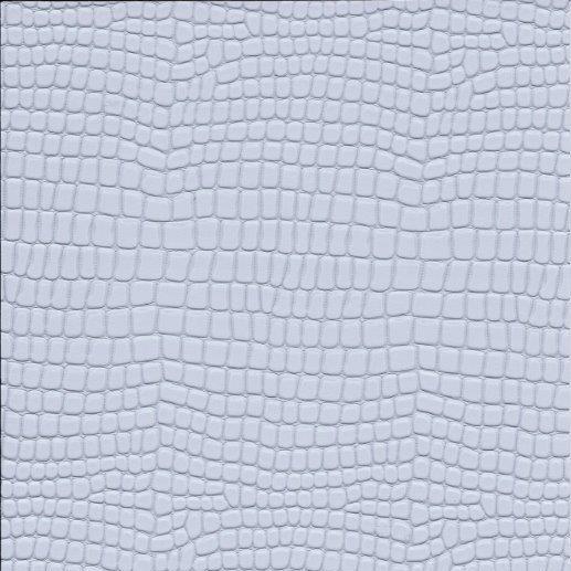 Kunstleder Python silber